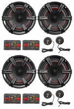 "2-Pair MB Quart XC1-216 X-Line 6.5"" 360 Watt Car Audio Component Speaker Systems"