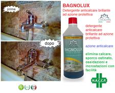 Detergente anticalcare protettivo (750 ML) lucidante profumato  BAGNOLUX CHOGAN