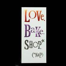 The Bright Side amour cuire MAGASIN poil doublé Aimant liste de courses Livre