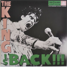 THE CRAMPS THE KING IS BACK CONNOISSEUR RECORDS VINYLE NEUF NEW VINYL LP GREEN