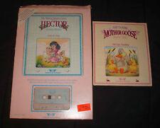 1987 Worlds of Wonder Talking Mother Goose Fairy Little Bo Peep Book Cassette