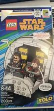LEGO STAR WARS 2018 SDCC EXCLUSIVE MILLENNIUM FALCON COCKPIT HAN SOLO CHEWY NEW!