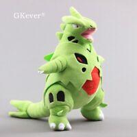 14'' Anime Mega Evolution Tyranitar Plush Stuffed Animal Toy Doll 35cm Teddy