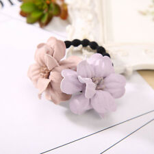 Rubber bands Rope Cloth Headbands Ties Hair Accessories Elastic Hair Ring Flower