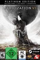 Civilization VI - Platinum Edition - PC Steam Game Digital Code - Global