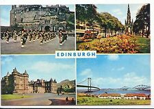 Scotland Postcard - Views of Edinburgh    SM322