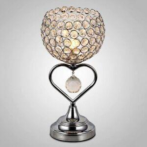 Modern Crystal Table Lamp Bedroom/Bedside lamp Desk light Lamp Decor