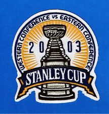 2003 STANLEY CUP FINALS NHL JERSEY PATCH