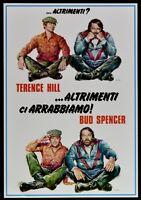 Plakat Sonst Ci Wütend Terence Hill Bud Spencer Trinity' Poster PP1