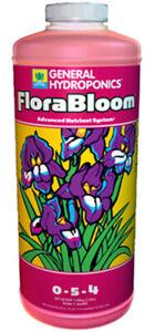 General Hydroponics Flora Bloom Enhancer Quart 32 OZ FREE & DISCREET SHIPPING