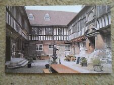 .A SALMON CAMERACOLOUR POSTCARD,THE COURTYARD,ST.WILLIAMS'S COLLEGE YORK