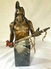 C. A. Pardell Mystic Vision Mixed Media Bronze Sculpture Limited Edition 628/950