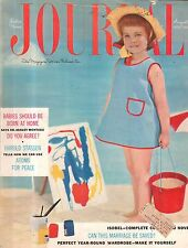 1955 Ladies Home Journal August-Should babies be born at home? Harold Stassen