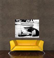 Poster Foto impresión de composición material Deportivo Largo Board Patineta Cool seb364