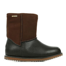 Chaussures Boots EMU Australia fille Trigg taille Marron Cuir A enfiler