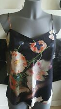 TED BAKER floral cami top size 12 (M) in ex con!