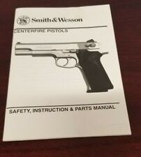 New listing Smith & Wesson Centerfire Pistols Safety, Instruction & Parts Manual