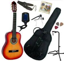 Pack Guitare Classique 1/2 Pour Enfant (6-9ans) Avec 7 Accessoires (sunburst)