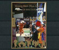 Bhutan 2015 MNH Strong Men Nya-Gyoes of Bhutan 1v S/S