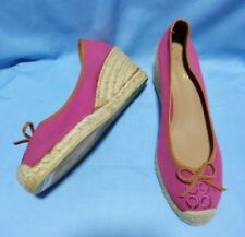 COACH Pink Wedge Size 9