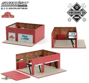1:64 Weekend Workshop Vintage Mechanics Greenlight no car