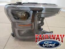 18 thru 19 F-150 OEM Ford Black Special Edition LED Head Lamp Light RH Passenger