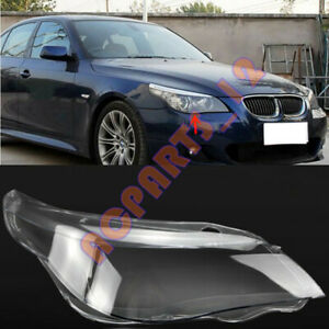For BMW 5series E60 2004-2009 Right Side Headlight Cover Replacement+ With Glue