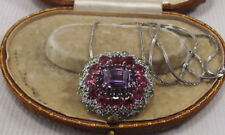 "White Gold 18 - 19.99"" VS1 Fine Diamond Necklaces & Pendants"