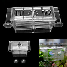 Fish Breeding Hatchery Young Fish Incubator Aquarium Breeder Isolation Box S/L