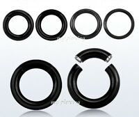 1pc.16g,14g, 8g, 6g, 4g Anodized Segment Ring Ear Lip Septum Cartilage Nose Hoop
