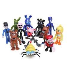 "12Pcs/Set 2""-4"" Five Nights at Freddy's Game Action Figures Fnaf Toys Gift Kids"
