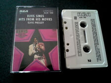 ELVIS SINGS HITS FROM HIS MOVIES CASSETTE TAPE PRESLEY AUSTRALIA LIKE NEW
