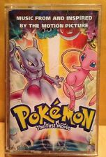 Pokemon: The First Movie ~ Original Audio Cassette Tape - GREAT SHAPE!!