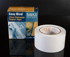 KAPCO EASY-BIND CLEAR BOOK REPAIR TAPE 64mm x 30m roll ACID FREE!