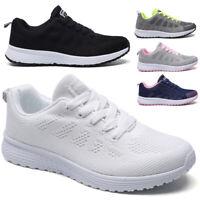 Damen Sneaker Laufschuhe Freizeit Running Fitness Strick Sportschuhe Turnschuhe