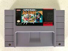 SNES Super Mario All Stars Super Nintendo AUTHENTIC