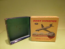DINKY TOYS BOX for 997 CARAVELLE SE 210 AIRLINER FRANCE - RARE SELTEN - ONLY BOX