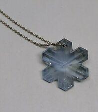 Swarovski Crystal Blue Shade 30mm Snowflake Ornament/ Suncatcher/ Decoration