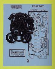 2002 Stern Playboy pinball rubber ring kit