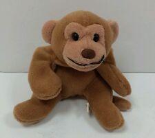 "Aqua Forms ~ Brown Bear Monkey 8"" ~ Plush Bean Bag Toy Stuffed Animal"