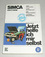TALBOT CHRYSLER Alpino Solara Minx Rapier 1975-86 Haynes Officina Proprietari Manuale