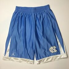 EUC Embroidered Nike Jordan North Carolina Tar Heels Basketball Shorts Mens M