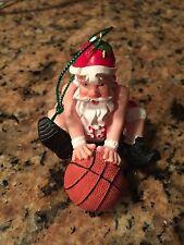 Basketball Santa Christmas Ornament