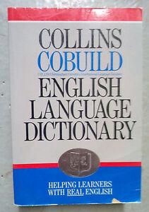 Dictionnaire anglais COLLINS COBUILD