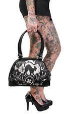 Liquorbrand Jinx Proof Halloween Black Cat Luck Goth Gothic Shoulder Bag Purse