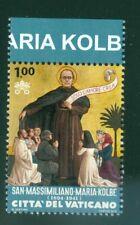 2016 Vatican City Sc# 1630, Death of Saint Maximilian Kolbe MNH
