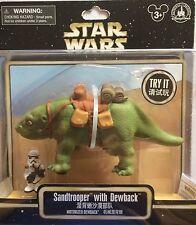NIB Disney Parks Star Wars Sandtrooper With Dewback Motorized Action Figure