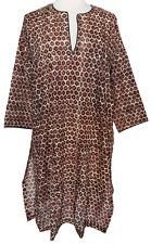 Anokhi kaftan - Cheetah - 100% cotton - size M/L