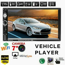 7'' 2DIN Car Vehicle MP5 Player Mirror Link Touch Screen FM Stereo Radio 7023B