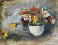 Original oil Painting floral flowers still life Art Listed By Artist Artettina